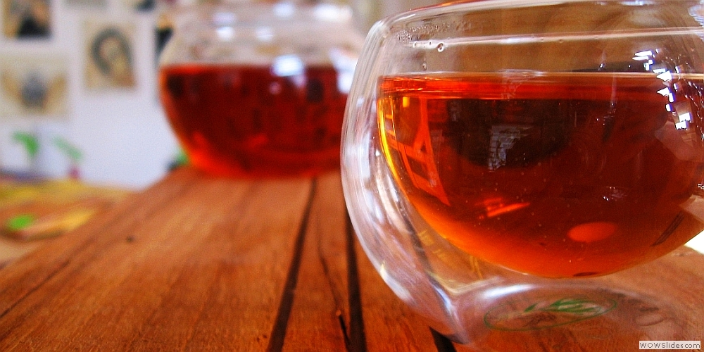gruzínské čaje